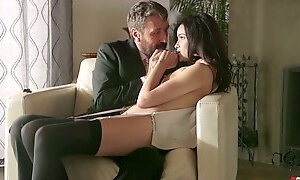 Romantic girl Eden Sin does not expect to be fucked so damn hard