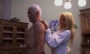 Hot Teen nurse seducing an Old patient xVideos