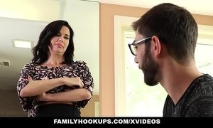 Familyhookups - hot milf teaches stepson how to fuck xVideos