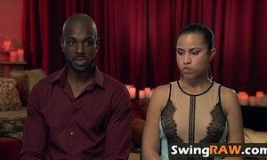 White and black couples having swinging fun xVideos