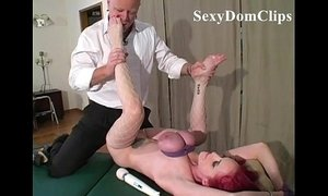 Hot lady Mz Berlin is tied up and fucked hard  with breasts compressed by ropes xVideos