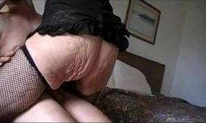 GRANNY MARG 90 HAMMER FUCKED IN HOTEL - Grannies porn tube video at xxxmilf.pro!