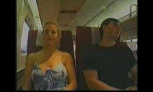 Blonde Groped on Train xVideos
