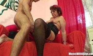 Emo Grandma Jana Pesova Fucked In Sexy Stockings xVideos
