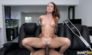 Salacious and sex-hungry chick Aidra Fox hooks up with one black dude AnySex