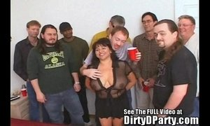 Susie's Gang Bang Bukkake Party With Dirty D xVideos