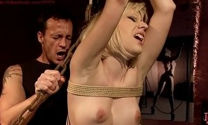 Curious isabell wants a new sexual experience.bdsm movie.