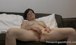 Horny MILF Masturbating Fleshy Pussy to Multiple Orgasms xVideos