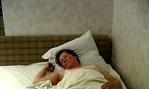 My friend fucking horny granny doggy style on amateur sex video