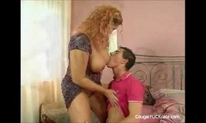 Busty Mature Cougar vs Young Big Dick xVideos
