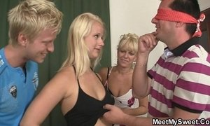 Funny threesome with his girlfriend xVideos