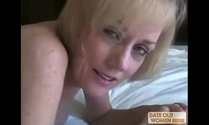Nasty ass horny granny gets fucked by young dude xVideos