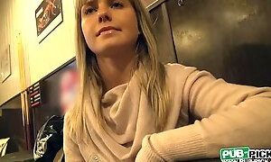 Eurobabe Mikayla drilled for some cash
