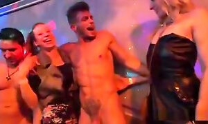 Frisky Chicks Get Absolutely Wild And Nude At Hardcore Party