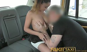 FakeTaxi Sassy Romanian with perfect tits gets taxi facial YouPorn