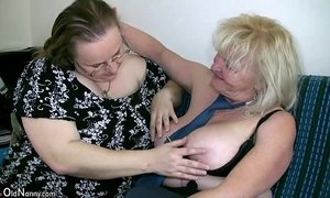 OldNanny Mature with big boobs masturbate with chubby Granny together xVideos