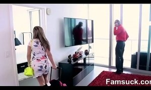 Hot Milf Fucks Nerdy Step-Son On Vacation |FamSuck.com xVideos