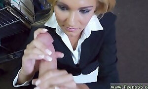 Gorgeous amateur hotel first time Hot Milf Banged At The PawnSHop