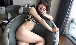 Japanese MILF gets naughty in the hottest solo action