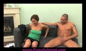 FemaleAgent MILF indulges stud in his foot fetish xVideos