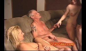 Dad and son fuck their babe girlfriends xVideos