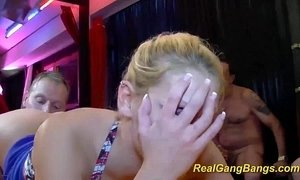 real gangbang with cute teen xVideos