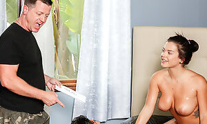Stepdad and Uncle enjoy massage by Keisha Grey