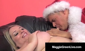 Horny Hottie Maggie Green Is Banged By Santa & His BBC Elf! xVideos