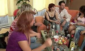 Hot MILFs enjoys the hot game of sex together