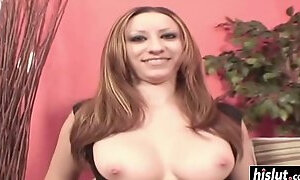 Big dick penetrates her wet pussy film