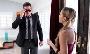 Sizzling hot babysitter fucked and thanked Beeg