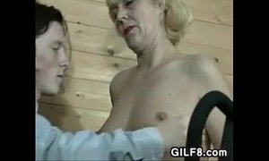 Grandma Being Pleased By A Horny Boy xVideos