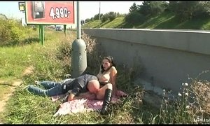 Naughty Couple Public Sex Roadside xVideos
