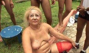 granny gangbang full movie xVideos