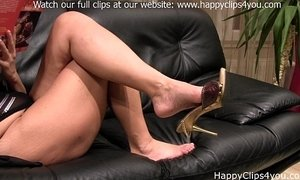 grace barefoot slipper dangling 0209 foot fetish custom clip happyclips xVideos