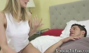 Teen stepsis rides dong xVideos