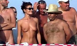 Russian nudist camp
